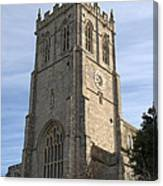 Christchurch Priory Bell Tower Canvas Print
