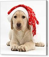 Christmas Puppy Canvas Print