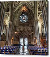 Church Of England Canvas Print