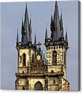 Church Of Our Lady Before Tyn - Prague Cz Canvas Print