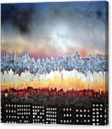 City Never Sleeps Canvas Print