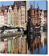 City Of Gdansk Canvas Print