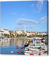City Of Split In Croatia Canvas Print