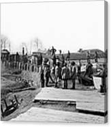 Civil War: Bull Run, 1862 Canvas Print