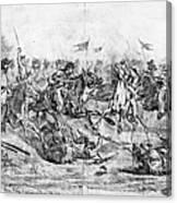 Civil War: Cavalry Charge Canvas Print