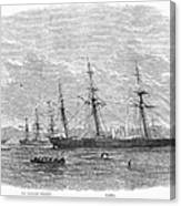 Civil War: C.s.s. Florida Canvas Print