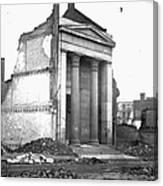 Civil War: Fall Of Richmond Canvas Print
