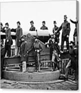 Civil War: Officers, 1865 Canvas Print
