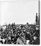 Civil War: Petersburg, 1864 Canvas Print