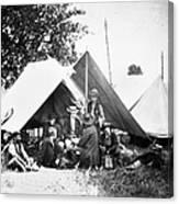 Civil War: Signal Corps Canvas Print
