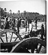 Civil War: Union Artillery Canvas Print
