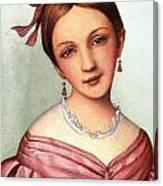 Clara Schumann (1819-1896) Canvas Print
