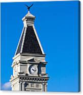 Clarksville Historic Courthouse Tower Canvas Print