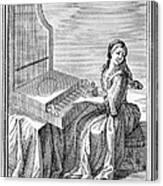 Clavicytherium, 1723 Canvas Print