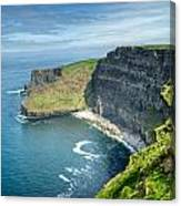 Cliff Of Moher 31 Canvas Print