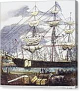 Clipper Ship, 1851 Canvas Print