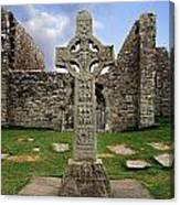 Clonmacnoise, Co. Offaly, Ireland Canvas Print