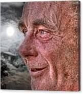 Close-up Profile Robert John K. Canvas Print
