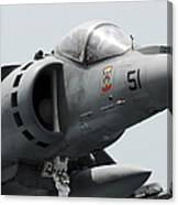 Close-up View Of An Av-8b Harrier II Canvas Print