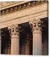 Closeup Of The U.s. Supreme Court Canvas Print