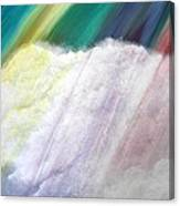 Cloud Within Rainbow Canvas Print