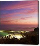 Coastal Sunset Canvas Print