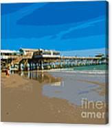 Cocoa Beach Pier Florida Canvas Print