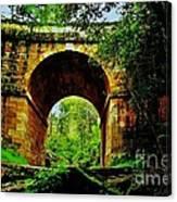Colonial Era Bridge Canvas Print