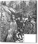Colorado: Pikes Peak, 1867 Canvas Print