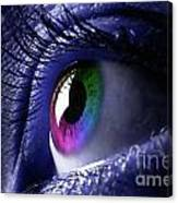 Colorful Eye Canvas Print