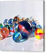 Colorful Marbles Canvas Print