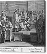 Confirmation, 18th Century Canvas Print