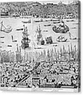 Constantinople, 1713 Canvas Print