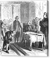 Continental Congress, 1774 Canvas Print