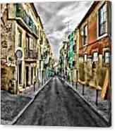 Cores De Lisboa - Lisbon Colors Canvas Print