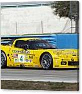 Corvette Racing C6r Canvas Print