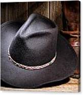 Cowboy Hat Canvas Print