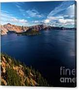 Crater Lake Blues Canvas Print