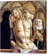 Crivelli: Pieta Canvas Print