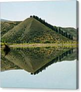 Cromwell Dam Reflections Canvas Print