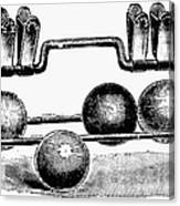 Croquet, C1900 Canvas Print