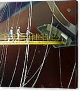 Crude Oil Tanker Canvas Print