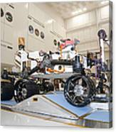 Curiosity Rover In The Testing Facility Canvas Print