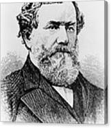 Cyrus Mccormick, American Inventor Canvas Print