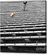 Daddy - Wait For Me  Canvas Print