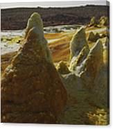 Dallol Geothermal Area, Danakil Canvas Print