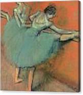 Dancers At The Bar Canvas Print