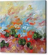 Dancing Sunrise Canvas Print
