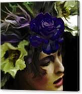 Dark Wood Nymph Canvas Print
