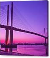 Dartford Bridge Canvas Print